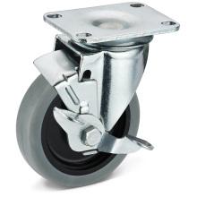 Las ruedas de freno laterales móviles TPR