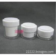20g-30g-50g-white double wall acrylic cream jars