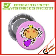 Tin Plate logo Customized Hot Sale Badge Botões