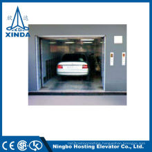 Inground Freight Elevator Car Lift Outdoor