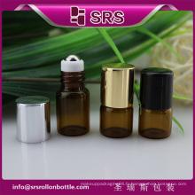 SRS pas de fuite couleur ambrée vide 1 ml 2 ml de petites bouteilles de médicaments en verre