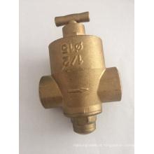 """Válvula redutora de pressão de latão 1/2 """"(a, 8011)"""