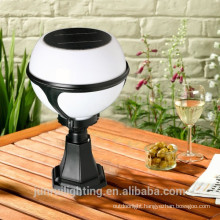 High Lumen CE globular solar garden light for garden gate lighting(JR-2012)