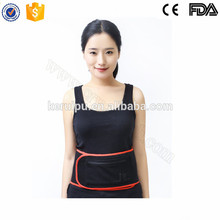 Red light therapy heating lower back support belt pad 5v