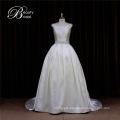 OEM Charming Pretty Mikado Wedding Dress