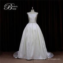 OEM charmante jolie robe de mariée de Mikado