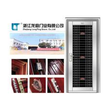 Puerta de seguridad de acero inoxidable personalizada