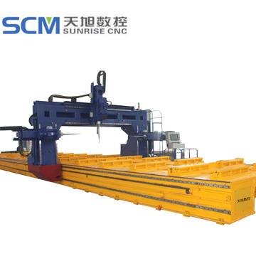 Tbd2510-3+Gantry-Type+CNC+Drilling+Machine+for+Beams