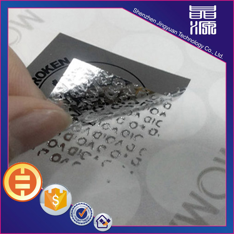 Hologramme 3d Tamper Proof Sticker Seals