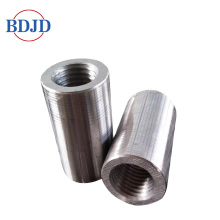 45 Carbon Steel Parallel Thread Rebar Coupler