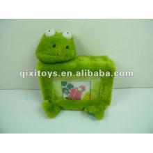 stuffed and plush frog photo album