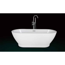 Middle Size Acrylic Bathtub
