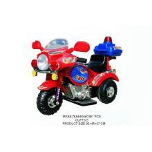 Kinder fahren auf Auto batteriebetriebenes Motorrad (H0102127)