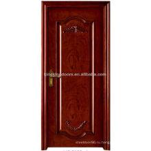 Роскошный интерьер дерево твердых двери MO-310S деревянные двери для дешевой цене