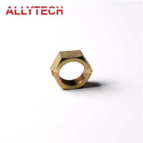 Precision Turned Parts with Zinc Plated