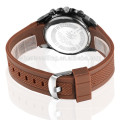 Grossista impermeável pulseira de silicone pulseira relógios