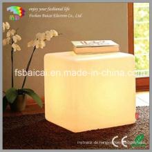 Modernes Erscheinungsbild LED Cube Light / Chair