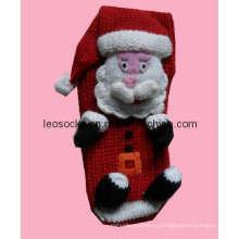 Трикотажные носки для рождественских чулок (DL-CR-19)