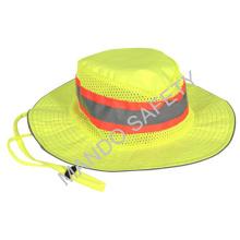 Sombrero de alta visibilidad para seguridad en el trabajo