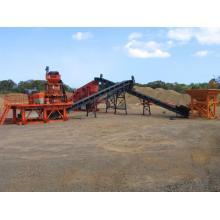 Matériel de concassage mobile de mines et de carrières