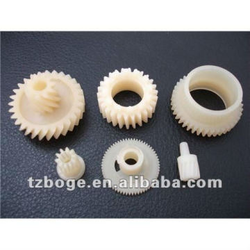 Engranaje plástico moldeo por inyección engranaje plástico molde/alta precisión
