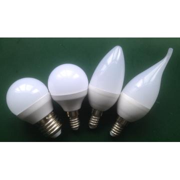 C37 / G45 LED Birne für Aluminium Kunststoff (3W, 4W, 5W)