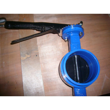 AWWA Grooved End Butterfly Valve