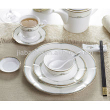 A064 Eco friendly german porcelain dinnerware set