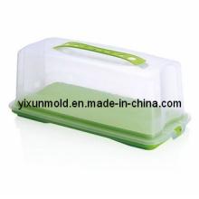 Пластиковая форма для упаковки торта