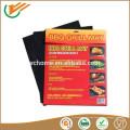 PFOA Freie Hochtemperaturbeständigkeit Teflon BBQ Grillmatte Nicht klebrige wiederverwendbare Menge von 2 oder 3 LFGB FDA zertifiziert