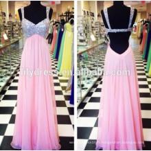 Pink Sweetheart Neckline Custom Made Floor Longueur Designs Long Evening Party Wear ED128 robe de soirée taille xxl