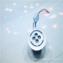 Fabriqué en Chine haute puissance haute luminosité eyehiled led downlight 4w