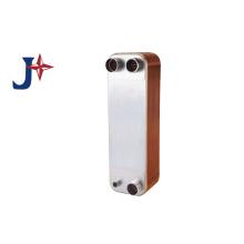 Trocador de calor de placa brasada de líquido para líquido