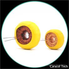Inducteur 150uh de bobine de cuivre de bobine de mode commun adapté aux besoins du client par usine