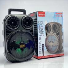 KMS-3391 Speaker Outdoor Portable Trolley Speaker DJ Speaker System Subwoofer Sound Box With LED Light