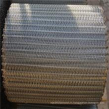 Courroie de convoyeur de maille de fil d'acier inoxydable équilibrée par résistance à hautes températures