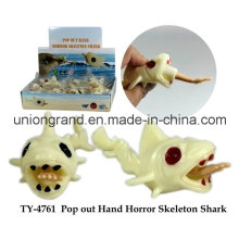 Pop Out Hand Terror Skeleton Shark