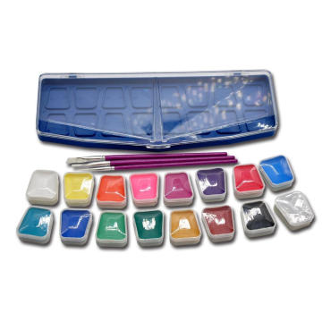 Waterbased Professional Halloween Face Paint Set