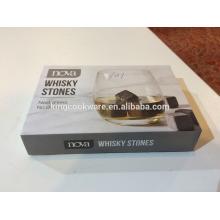 Piedra de whisky de piedra de jabón