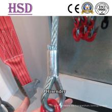 Electro galvanizado DIN6899A cable dedal para Aparejo de sujetador