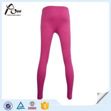 100% Polyester Femmes Long Johns Seamless Sports Pants