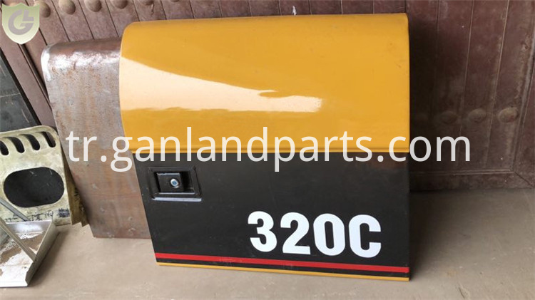 CAT 320C Excavator Side Doors