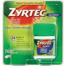 Novo design impresso caixa de plástico para produtos de saúde (caixas de presente)