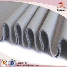 Nice Hemming Solid escovado lenço simples com borla