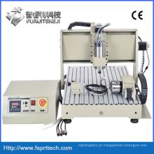 Máquina roteadora CNC com mini máquina roteadora CNC rotativa