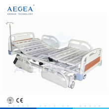 AG-BM101 electronic 5-Function medicare hospital beds with cross brakes