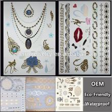 OEM Großhandel mit Leopard Tattoo Anhänger Tattoo beliebte Marken temporäre Tattoo Aufkleber für Erwachsene QY098