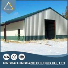Entrepôt multifonctionnel en bois de construction en acier en Afrique