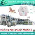 High Speed Disposable Training Pants Diaper Making Machine Manufacture (LLK500-SV)