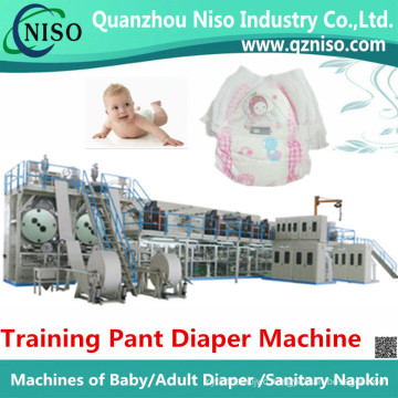 High Speed Disposable Training Pants Diaper Making Machine Manufacture (LLK500-SV)
